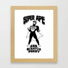 Super Ape £$P Framed Art Print