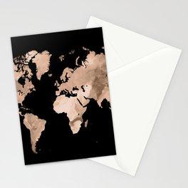 Design 97 world map Stationery Cards