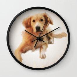 Finnegan Begin Again Wall Clock