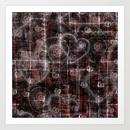 pattern abstract #1 Art Print