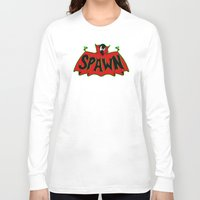 spawn Long Sleeve T-shirts featuring Hell's monster by Buby87