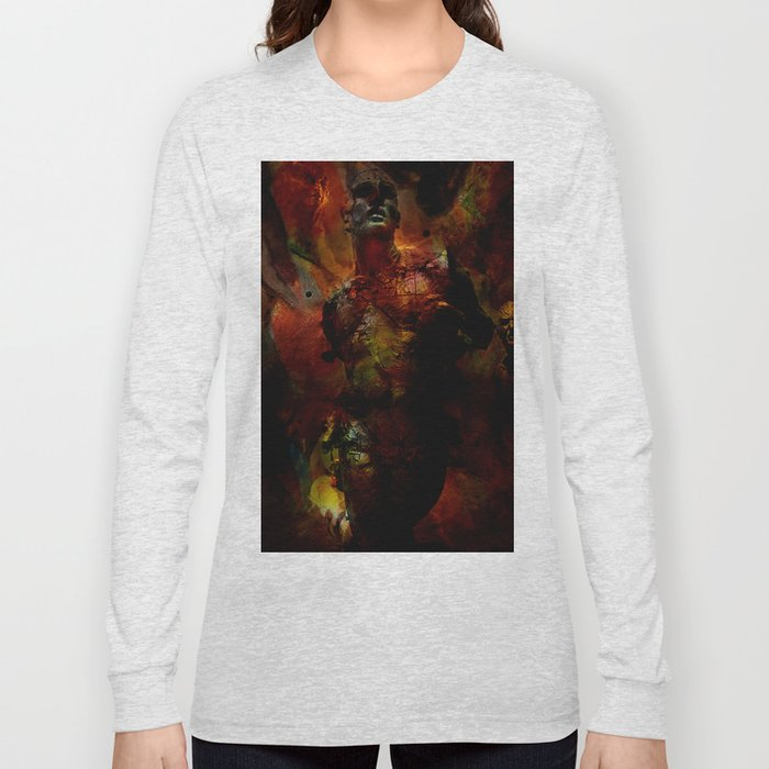 The last hour of Pompei Long Sleeve T-shirt