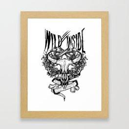 Wild Inside 1 Framed Art Print