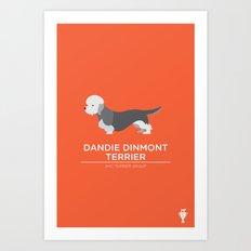 Dandie Dinmont Terrier Art Print