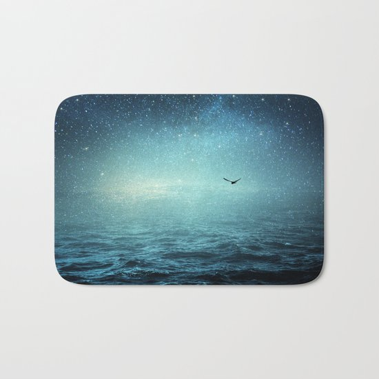 the sea and the universe Bath Mat