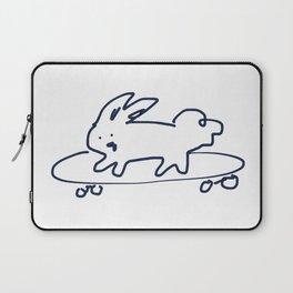 Skateboard Bunny RABBITS TALKING Laptop Sleeve