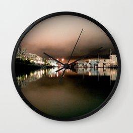 Mission Bay Creek #1 Wall Clock