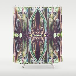 RefraCacti Shower Curtain