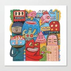 Mêmsac  Canvas Print
