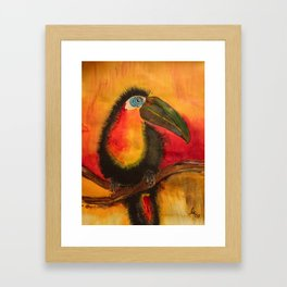 color - play Framed Art Print