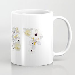 White Flower 1987 Coffee Mug