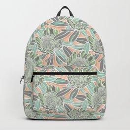 Hand drawn Protea Garden Backpack