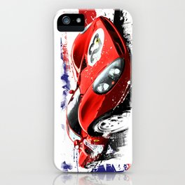 FERRARI 330 - P4  n°23 DAYTONA 1967 iPhone Case