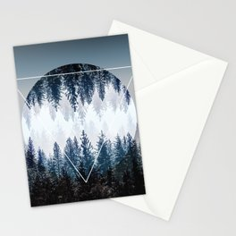 Woods 4 Stationery Cards