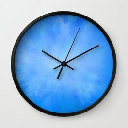 Blue Jean Sky Wall Clock