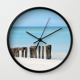 Leading to the Water Wall Clock