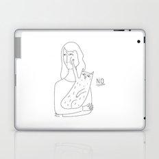 CAT SAYS NO Laptop & iPad Skin