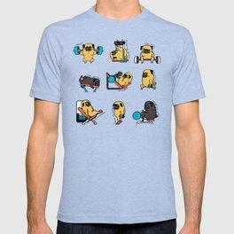 Pug Leg Day T-shirt