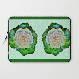 Beige Cabbage from the Garden Laptop Sleeve