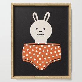 Savage: Bunny Pants Serving Tray