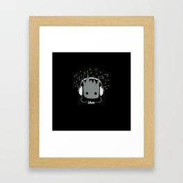 I am baby guardian Framed Art Print