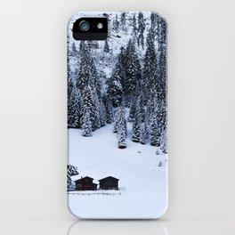 Schanfigg GR Langweis iPhone Case
