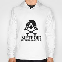 metroid Hoodies featuring Metroid Exterminators by SlapJacktheMonkey