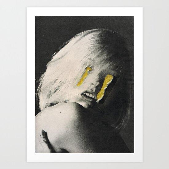 lagrimas negras (lemon) Art Print