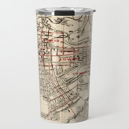 Vintage Map of Butte Montana (1909) Travel Mug