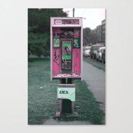 Don't Call Canvas Print