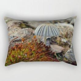 Tiny Toadstool Rectangular Pillow