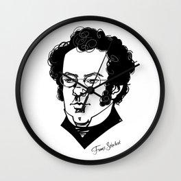Franz Schubert Wall Clock