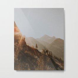 North Cascades Metal Print