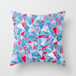 TRIANGLE GEOMETRIC 2 Throw Pillow