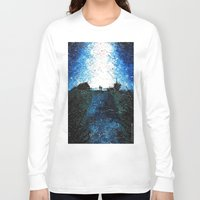 interstellar Long Sleeve T-shirts featuring Interstellar by LucioL