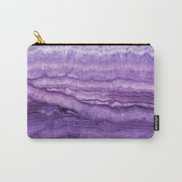 Mystic Stone Wild Violet Carry-All Pouch
