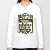 creativity Long Sleeve T-shirts featuring Creativity  by Lam Designs