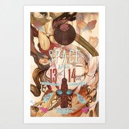 space (2013) Art Print