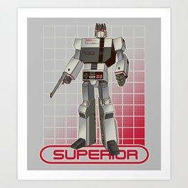 Superior Entertainment System Art Print