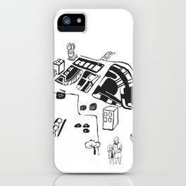 hungry cats - Daytime iPhone Case