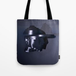Head Escalates (Say yes to Deconstructivism) Tote Bag
