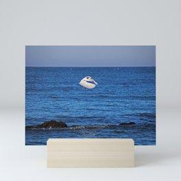 Egret on Caspersen Mini Art Print