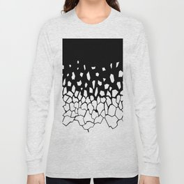 White Fragments Long Sleeve T-shirt
