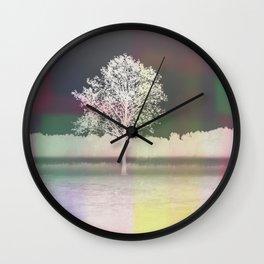 White tree Wall Clock