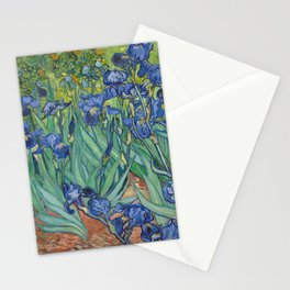 Irises by Vincent van Gogh Stationery Cards