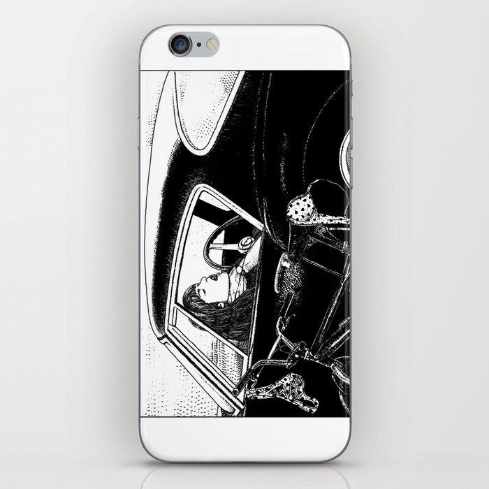 Asc 432 Le Bolide Noir Never Go Into A Black Car Iphone Skin