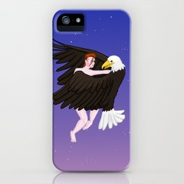 Making Love With His Eagle iPhone Case