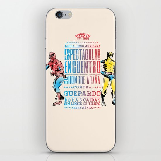 Espectacular Encuentro iPhone & iPod Skin