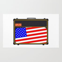 USA Rock Amplifier Rug