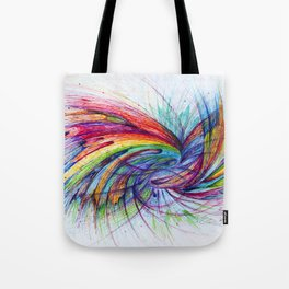 Kissing in color Tote Bag
